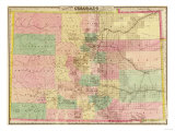 Colorado - Panoramic Map Prints by  Lantern Press
