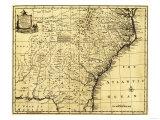 North and South Carolina & Georgia - Panoramic Map Prints