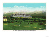 Bretton Woods, NH - Mt Washington Hotel, Presidential Range in September Art by  Lantern Press