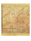 Proposal for Great Smoky Mountains National Park - Panoramic Map Art by  Lantern Press