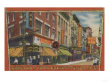 New York City, New York - Greetings From Chinatown Prints by  Lantern Press