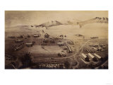 Colorado - Panoramic Map of Fort Collins No. 1 Prints