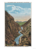 Estes Park, CO - View of Big Thompson Canon Prints