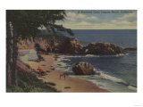 Laguna Beach, CA - Sheltered Cove on Coast Art by  Lantern Press