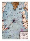Battle of Fort Sumter - Civil War Panoramic Map Art by  Lantern Press