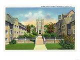 Ithaca, New York - Cornell University Baker Court Scene Prints