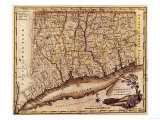 Connecticut - Panoramic Map Prints