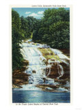 Ithaca, New York - Buttermilk Farms State Park Lower Falls View Prints by  Lantern Press