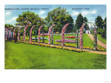 Bridgeport, Connecticut - Beardsley Park View of the Botanical Gardens Prints
