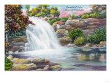 Catskill Mountains, New York - View of Shinglekill Falls Prints