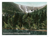 Hermit Lake, NH - View of Tuckermans Ravine, Mt. Washington Prints by  Lantern Press