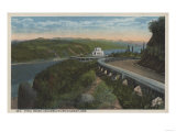 Columbia River, Oregon - Vista House View and Gorge Prints
