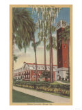 Deland, Florida - View of Stetson University Prints