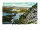 Camden, Maine - Maiden Cliff View of Lake Megunticook Prints by  Lantern Press