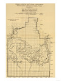 Grand Canyon National Park - Panoramic Map Prints
