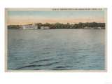Cocoa, Florida - View of Brevard Hotel & Indian River Prints