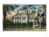 Cambridge, Massachusetts - Exterior View of Longfellow's Home Prints