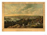 Georgetown, Washington DC - Panoramic Map Prints