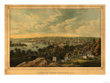 Georgetown, Washington DC - Panoramic Map Prints by  Lantern Press