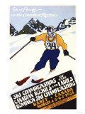 Banff, Alberta, Canada - Dominion Ski Championship Poster Prints