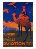 Cairo, Egypt - French Airline Promotional Poster Reprodukcje autor Lantern Press