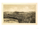 Brewster, New York - Panoramic Map Prints by  Lantern Press