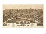 Buena Vista, Virginia - Panoramic Map Prints