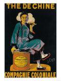 France - The De Chine, Colonial Company Promotional Poster Kunstdrucke von  Lantern Press