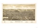 Johnstown, New York - Panoramic Map Prints by  Lantern Press