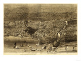 Chicago, Illinois - Panoramic Map No. 1 Prints by  Lantern Press