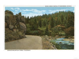 Denver Mountain Park, CO - Bear Creek Canyon at Evergreen Corner Prints by  Lantern Press