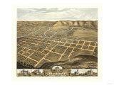 Iowa Panoramic Maps, Giclee Print