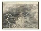 Brainerd, Minnesota - Panoramic Map Prints