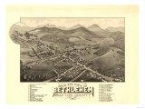 Bethlehem, New Hampshire - Panoramic Map Art