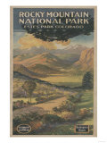 Estes Park, Colorado - Rocky Mt. National Park Brochure No. 1 Art by  Lantern Press