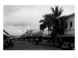Hilo, Hawaii - Street View Photograph Prints by  Lantern Press