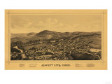 Jewett City, Connecticut - Panoramic Map Prints
