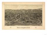 Fishkill, New York - Panoramic Map Prints by  Lantern Press
