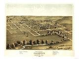 Blairstown, Iowa - Panoramic Map Prints