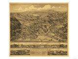 Higganum, Connecticut - Panoramic Map Prints