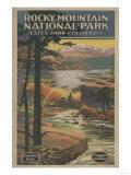 Estes Park, Colorado - Rocky Mt. National Park Brochure No. 2 Prints
