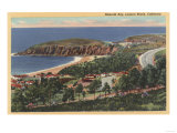 Laguna Beach, California - Aerial of Emerald Bay Prints by  Lantern Press
