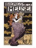 Paris, France - Bieres de la Meuse Promotional Poster Posters