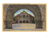 Palo Alto, California - View of the Memorial Church, Stanford U. Posters by  Lantern Press