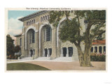 Palo Alto, California - View of the Library, Stanford University Posters by  Lantern Press
