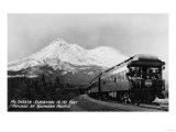 Mt. Shasta, California - Southern Pacific Cascade Railroad Poster by  Lantern Press