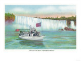 Niagara Falls, Canada - View of Maid of the Mist Boat Posters by  Lantern Press