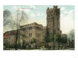 Rochester, New York - Exterior View of the 54th Regiment Armory Poster
