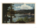 Lake Tahoe, California - View of Meeks Bay Posters by  Lantern Press