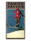 Lake Tahoe, California - Tahoe Tavern Promo Poster Posters av  Lantern Press